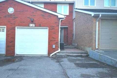 Townhouse for sale at 137 Tamarack Dr Markham Ontario - MLS: N4881635