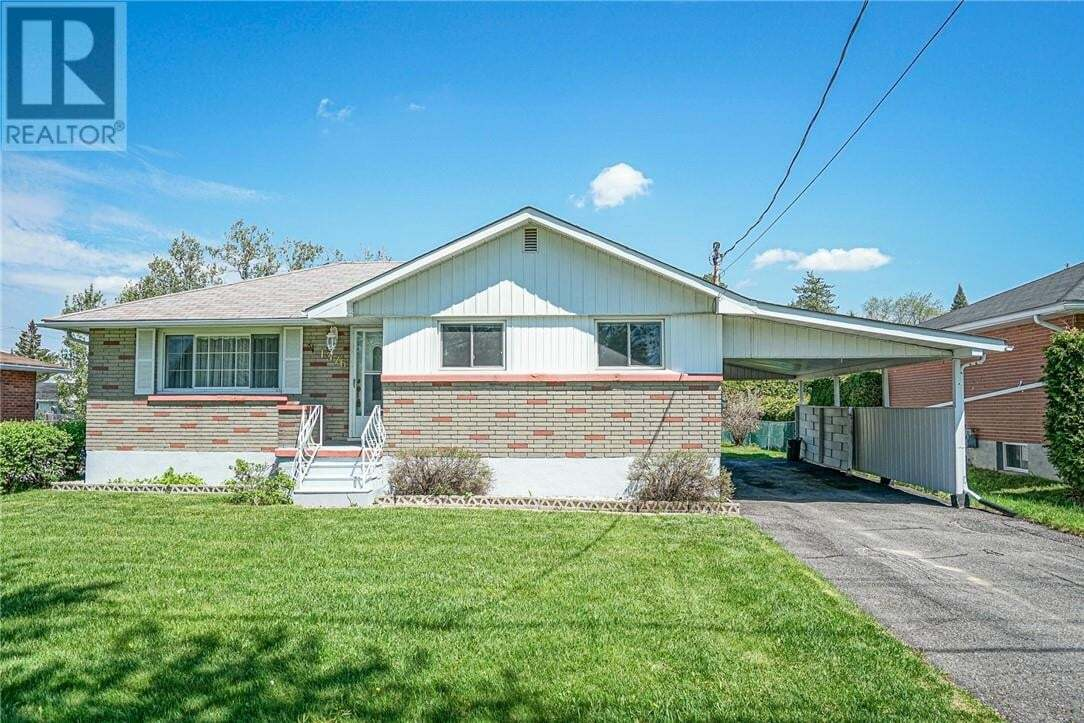 House for sale at 1376 Woodbine Ave Sudbury Ontario - MLS: 2085490