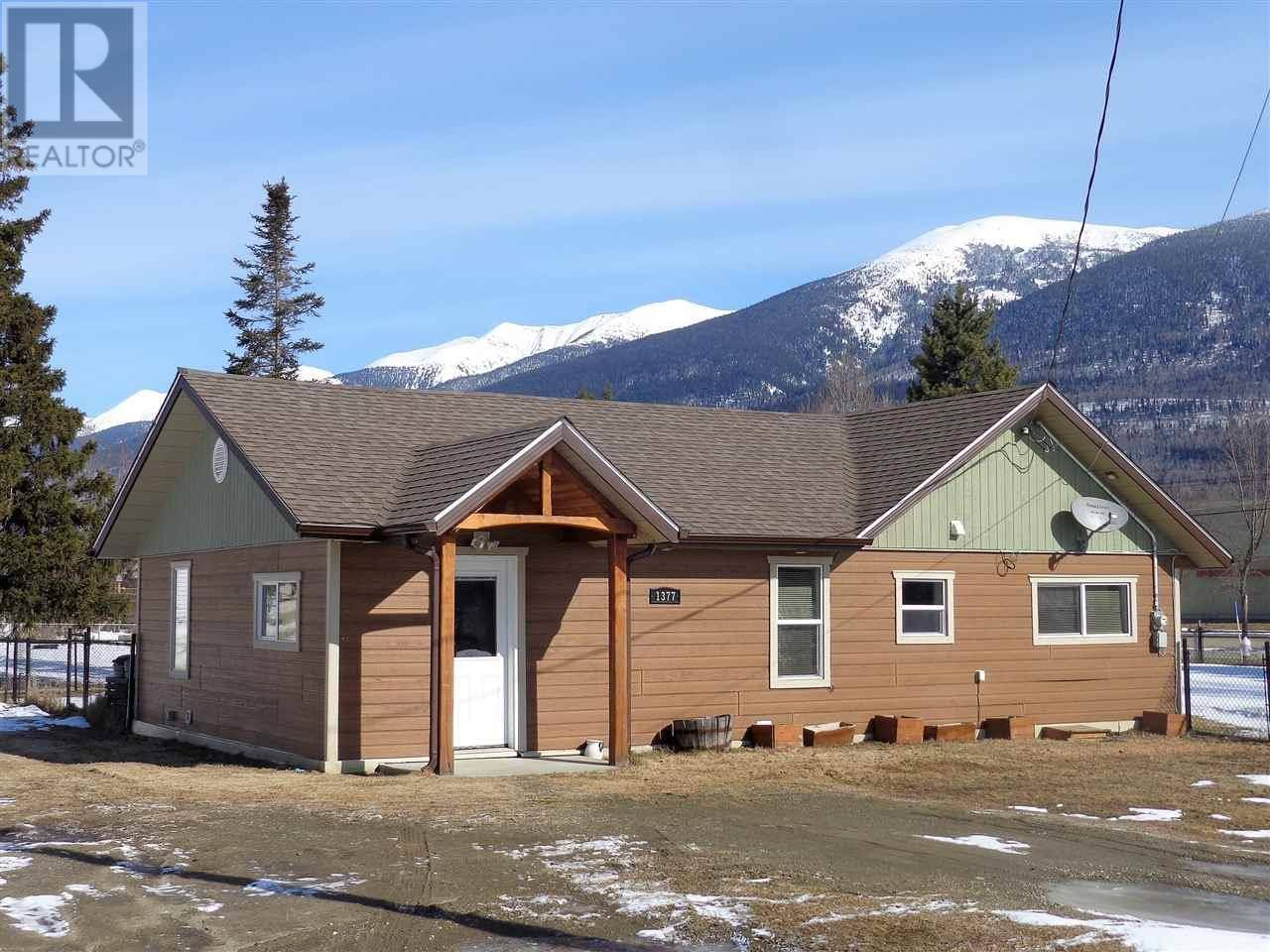House for sale at 1377 2nd Ave Mcbride British Columbia - MLS: R2449090