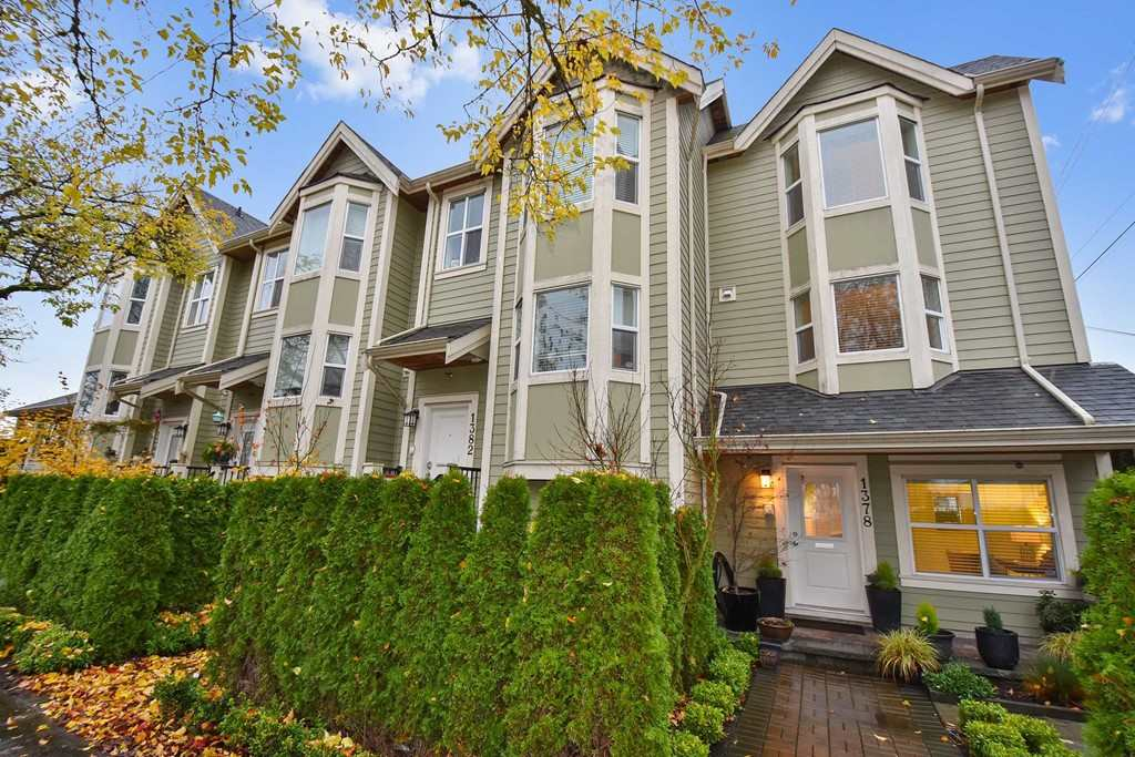 For Sale: 1378 E 27th Avenue, Vancouver, BC | 2 Bed, 2 Bath Townhouse for $998,000. See 20 photos!