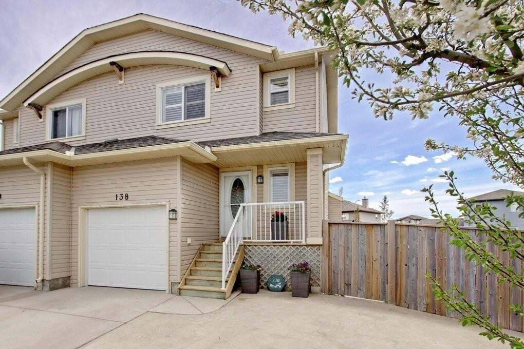Townhouse for sale at 138 Aspen Me Aspen Creek, Strathmore Alberta - MLS: C4299274