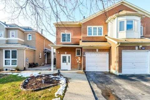 Townhouse for sale at 138 Rainforest Dr Brampton Ontario - MLS: W4651762