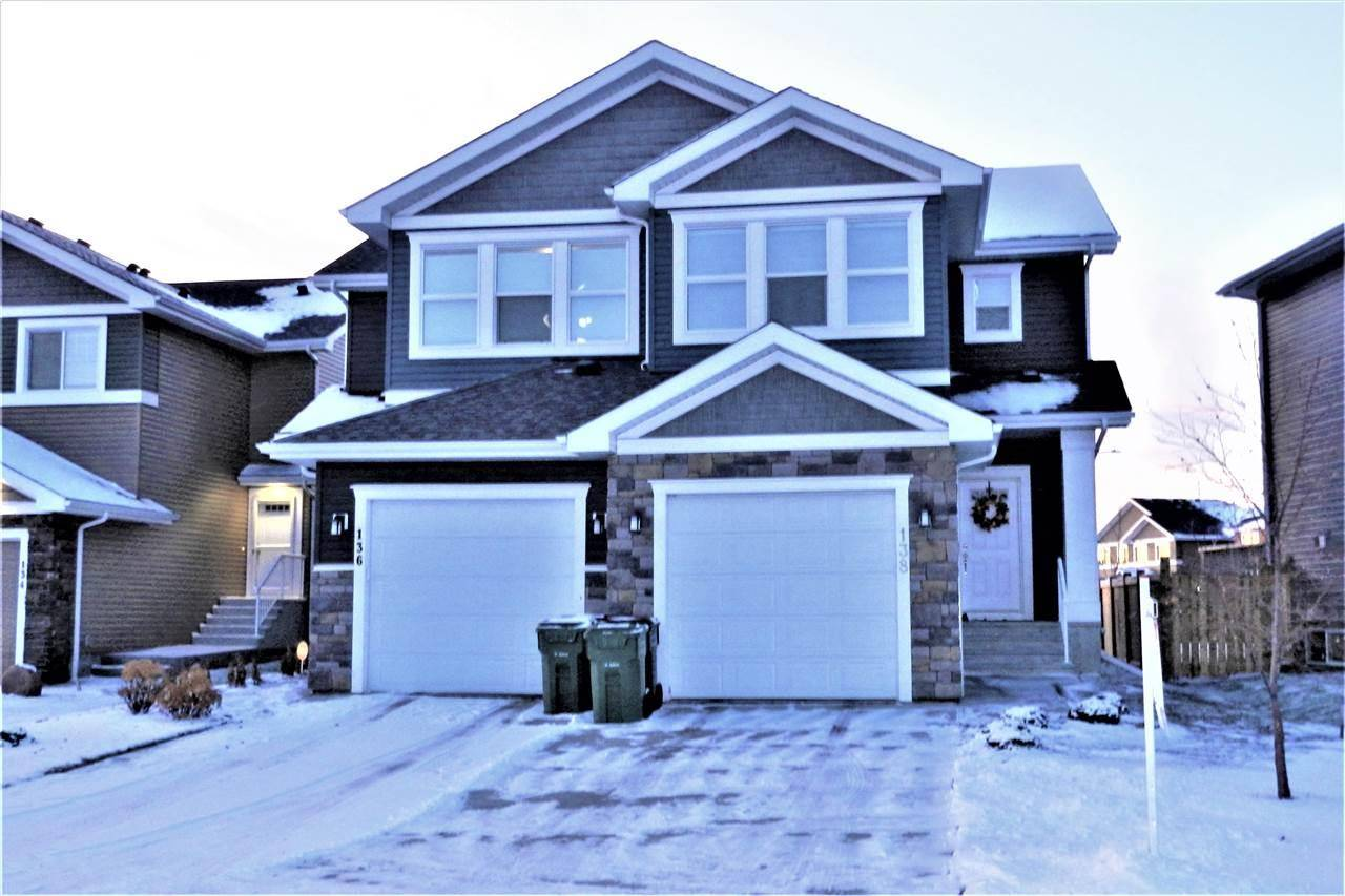 Townhouse for sale at 138 Reed Pl Leduc Alberta - MLS: E4169636