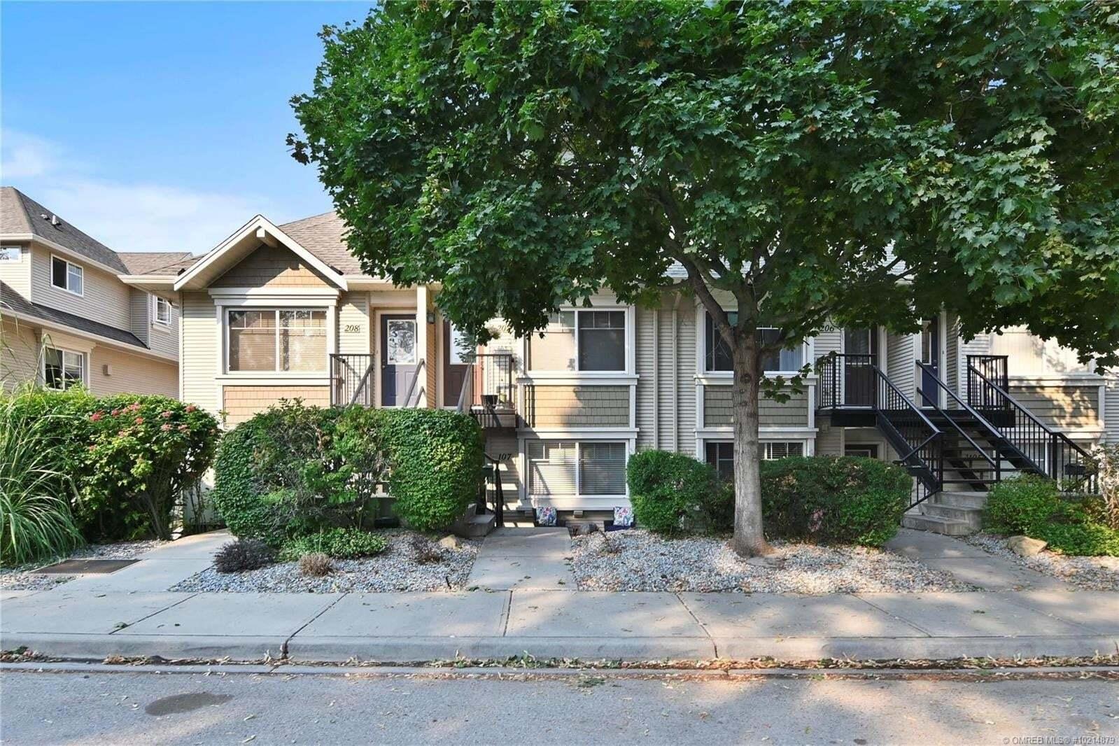 Townhouse for sale at 1380 Dilworth Cres Kelowna British Columbia - MLS: 10214879