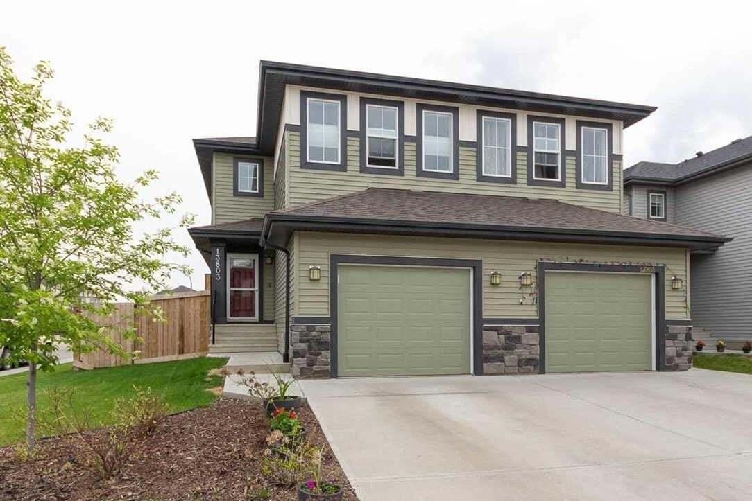 Townhouse for sale at 13803 139 Av NW Edmonton Alberta - MLS: E4198737