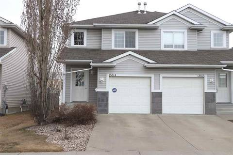 Townhouse for sale at 13814 38 St Nw Edmonton Alberta - MLS: E4152100
