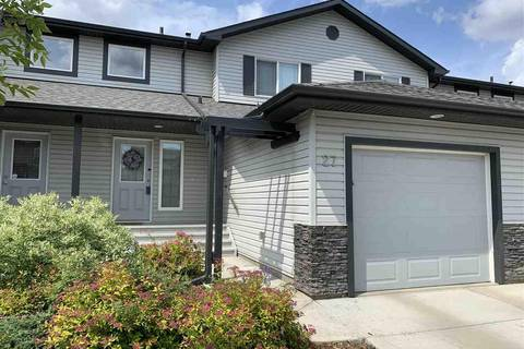 Townhouse for sale at 13838 166 Ave Nw Edmonton Alberta - MLS: E4164439