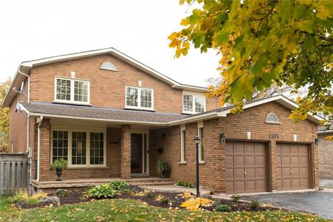 House for sale at 1385 Mayors Manor  Oakville Ontario - MLS: W4549285