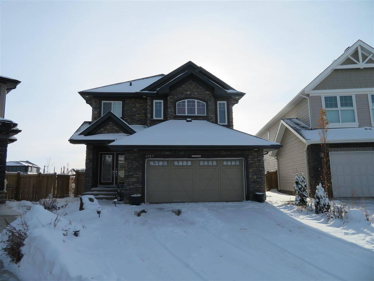 House for sale at 1387 158 St Sw Edmonton Alberta - MLS: E4179585