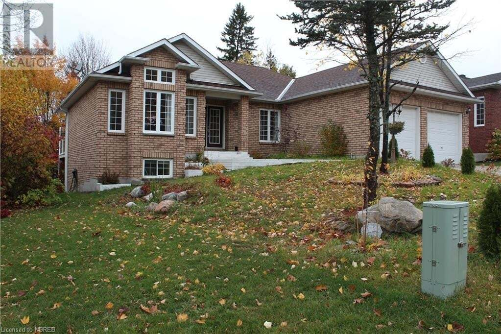 House for sale at 139 Bain Dr North Bay Ontario - MLS: 40033723