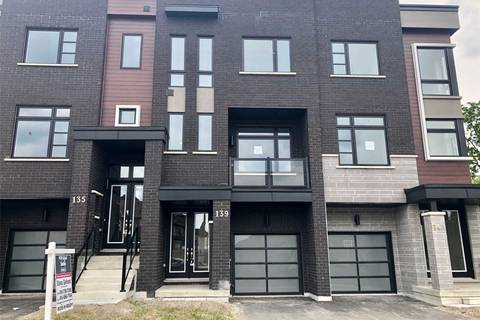 Townhouse for rent at 139 Lebovic Campus Dr Vaughan Ontario - MLS: N4522090