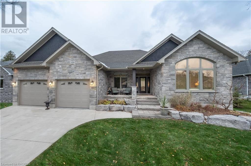 House for sale at 139 Trillium Dr Port Elgin Ontario - MLS: 232136