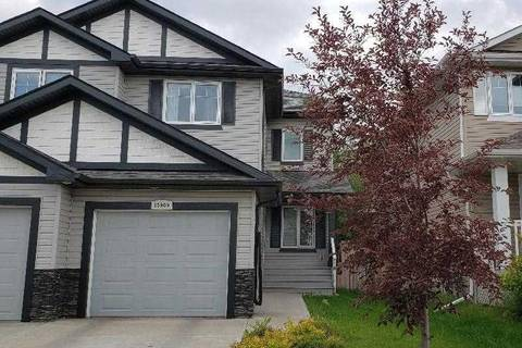 Townhouse for sale at 13909 164 Ave Nw Edmonton Alberta - MLS: E4165247
