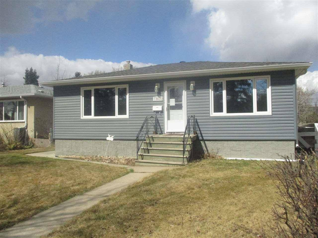 House for sale at 13916 109 Ave Nw Edmonton Alberta - MLS: E4189421
