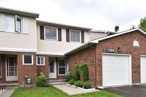 Townhouse for sale at 1394 Coulter Pl Ottawa Ontario - MLS: 1156387