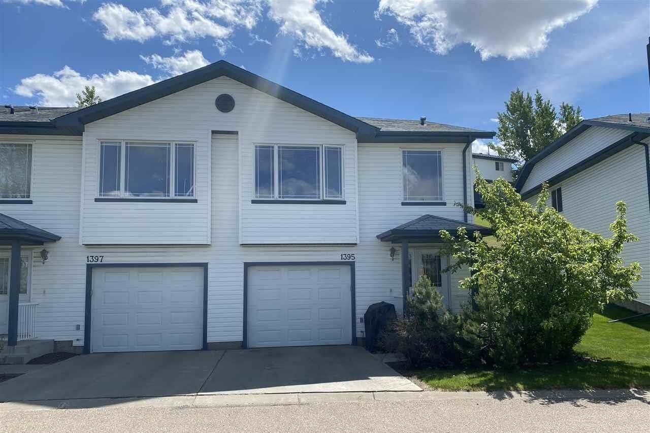 Townhouse for sale at 1395 Hermitage Rd NW Edmonton Alberta - MLS: E4200835