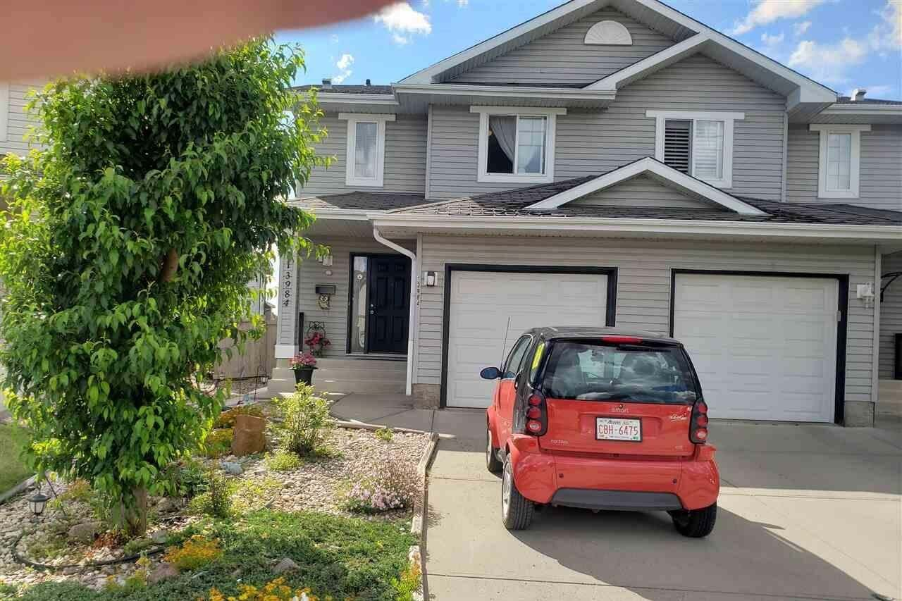 Townhouse for sale at 13984 137 St NW Edmonton Alberta - MLS: E4205217