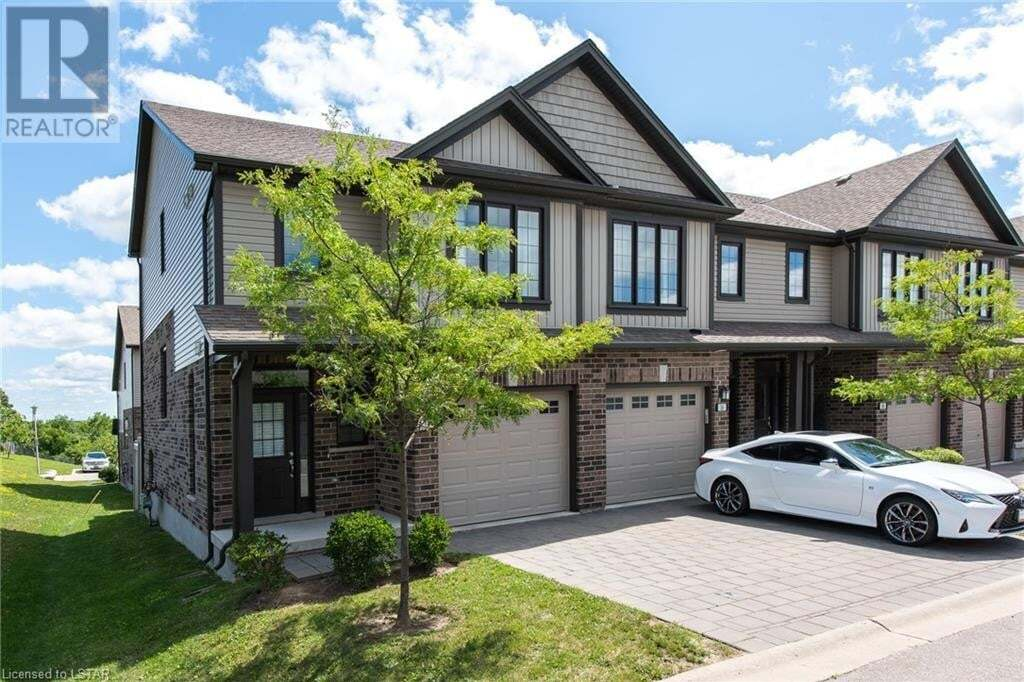 Townhouse for sale at 1030 Oakcrossing Gt Unit 14 London Ontario - MLS: 278504