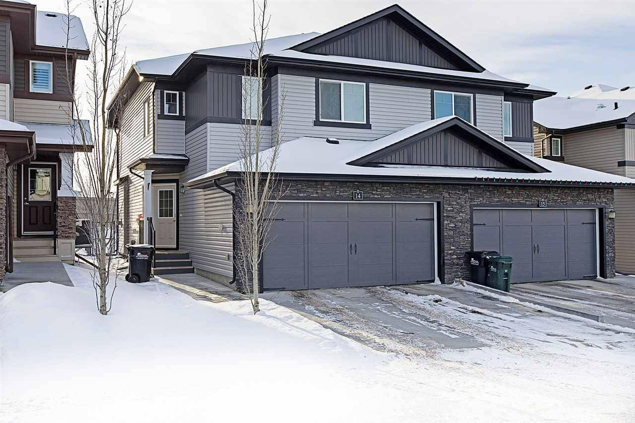Townhouse for sale at 11 Augustine Cres Unit 14 Sherwood Park Alberta - MLS: E4178079