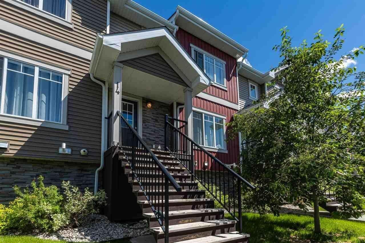 Townhouse for sale at 13810 166 Av NW Unit 14 Edmonton Alberta - MLS: E4202092