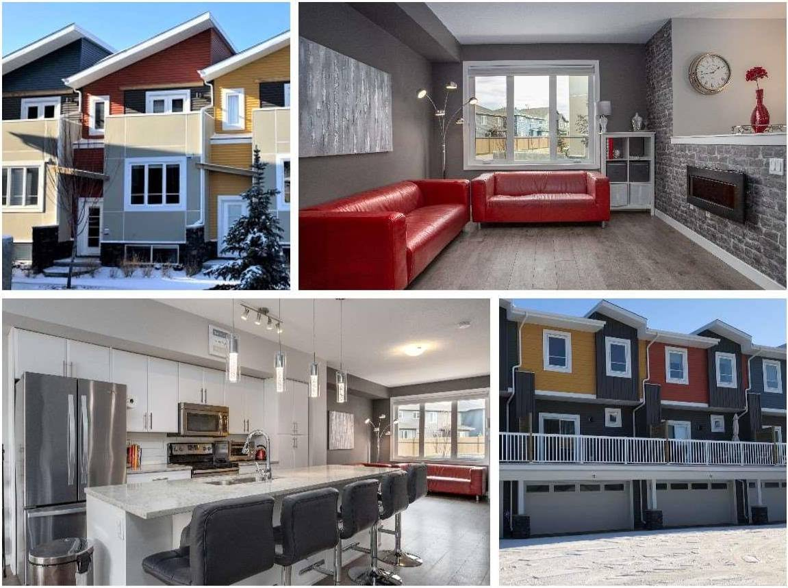 Townhouse for sale at 1480 Watt Dr Sw Unit 14 Edmonton Alberta - MLS: E4176509