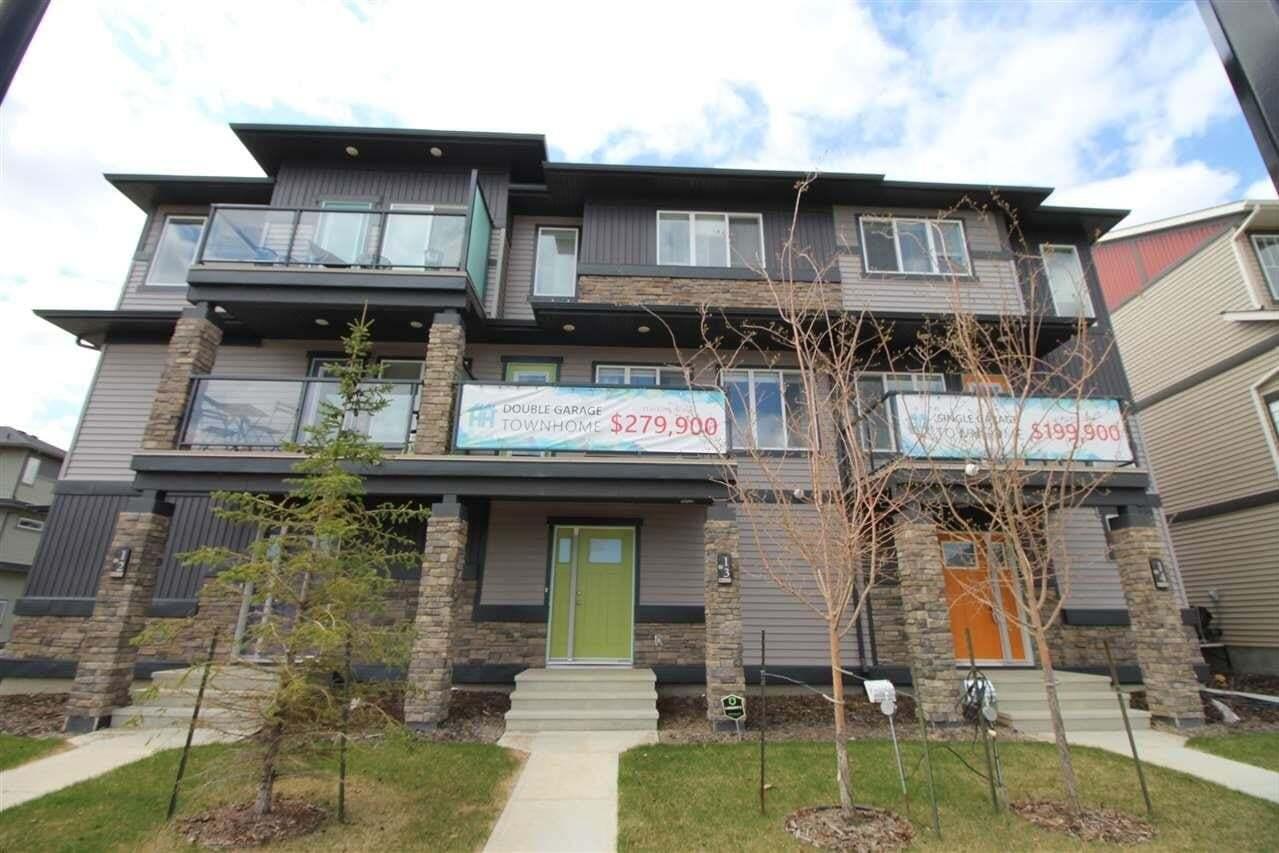 Townhouse for sale at 1530 Tamarack Bv NW Unit 14 Edmonton Alberta - MLS: E4191771