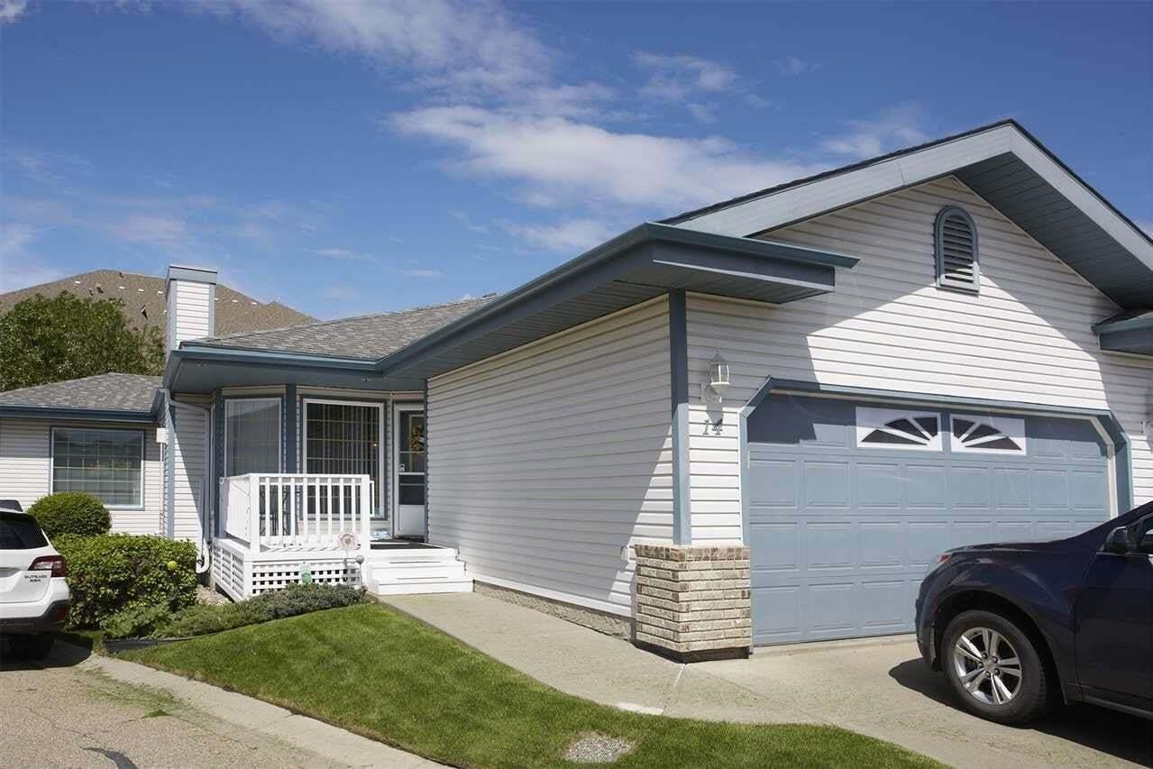 Townhouse for sale at 17418 98a Av NW Unit 14 Edmonton Alberta - MLS: E4201242