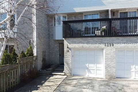 Townhouse for sale at 2299 Marine Dr Unit 14 Oakville Ontario - MLS: W4735792