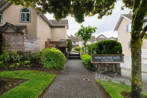 Townhouse for sale at 237 16th St W Unit 14 North Vancouver British Columbia - MLS: R2459966