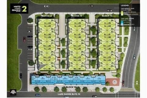 Condo for sale at 3580 Lake Shore Blvd Unit 14-29 Toronto Ontario - MLS: W4520711