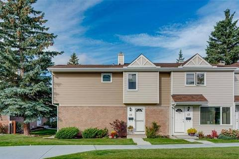 Townhouse for sale at 3620 51 St Southwest Unit 14 Calgary Alberta - MLS: C4265108