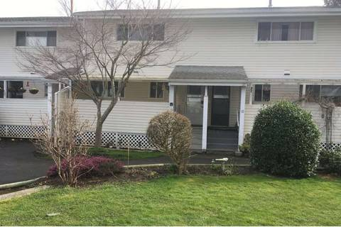 Townhouse for sale at 45215 Wolfe Rd Unit 14 Chilliwack British Columbia - MLS: R2447825
