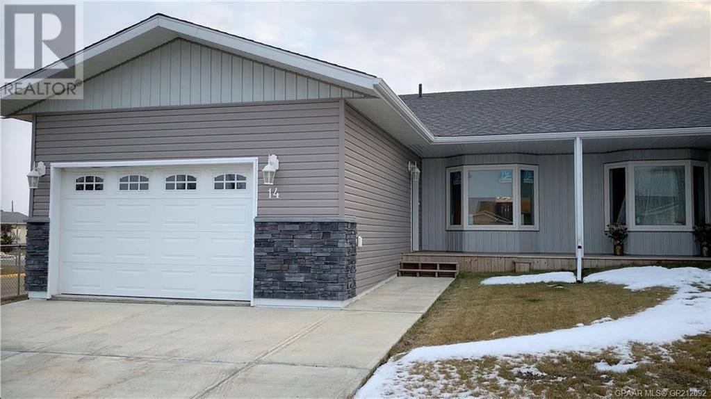 House for sale at 4801 50 St Unit 14 Grimshaw Alberta - MLS: GP212092