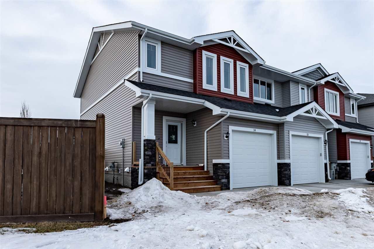 Townhouse for sale at 5309 49 Av NW Unit 14 Calmar Alberta - MLS: E4213429