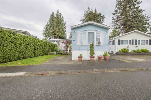 Residential property for sale at 6338 Vedder Rd Unit 14 Chilliwack British Columbia - MLS: R2365746