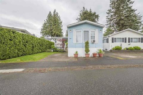 Residential property for sale at 6338 Vedder Rd Unit 14 Chilliwack British Columbia - MLS: R2427998