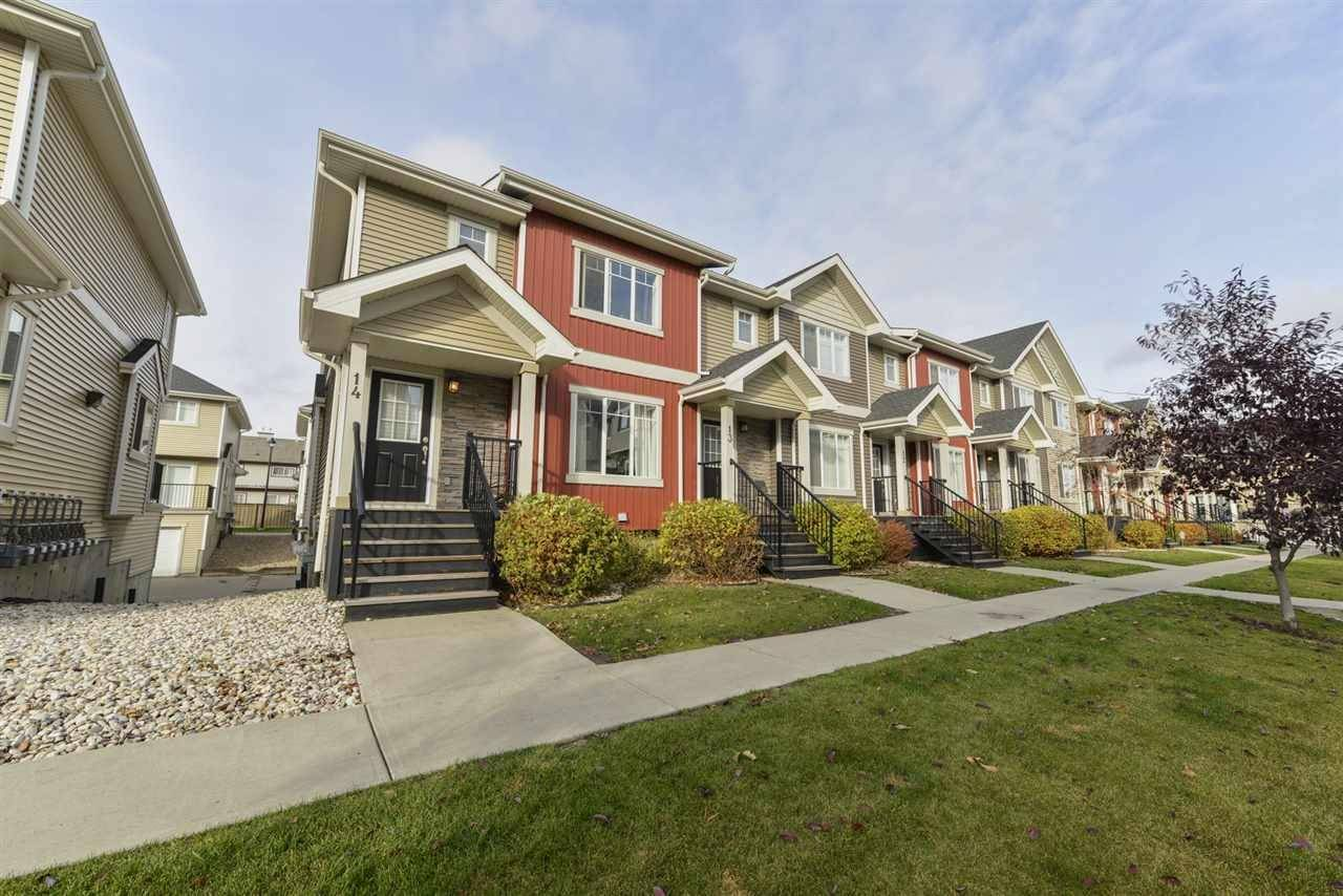Townhouse for sale at 7289 South Terwillegar Dr Nw Unit 14 Edmonton Alberta - MLS: E4177477