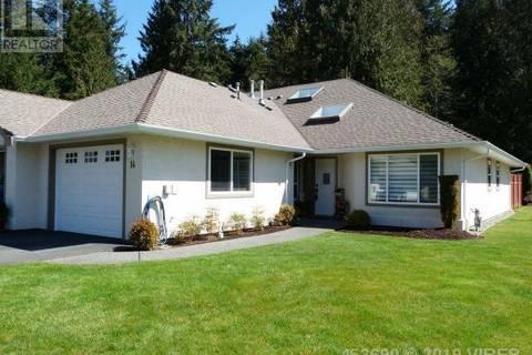Townhouse for sale at 850 Arbutus St Unit 14 Qualicum Beach British Columbia - MLS: 453690