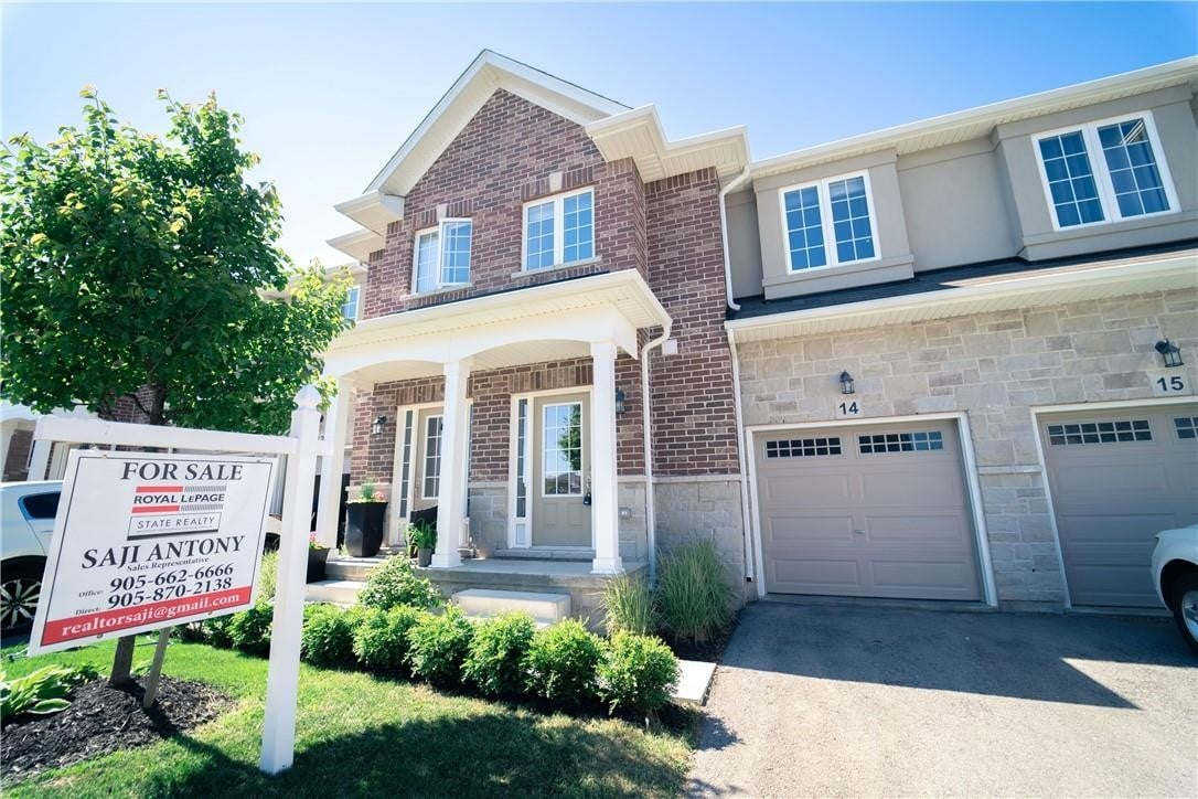 Townhouse for sale at 90 Raymond Rd Unit 14 Ancaster Ontario - MLS: H4080280