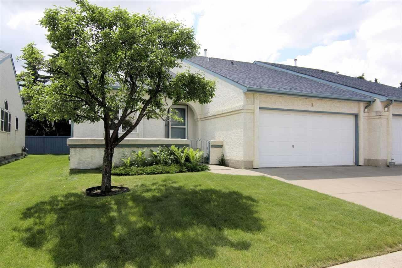 Townhouse for sale at 9718 176 St NW Unit 14 Edmonton Alberta - MLS: E4204230