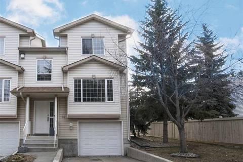 Townhouse for sale at 9935 167 St Nw Unit 14 Edmonton Alberta - MLS: E4150046