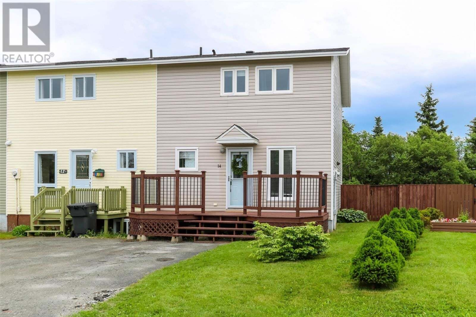 House for sale at 14 Ash Pl Mount Pearl Newfoundland - MLS: 1216831