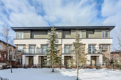 Townhouse for sale at 14 Aspen Hills Te Southwest Calgary Alberta - MLS: C4286182