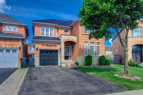 House for sale at 14 Brambirch Cres Brampton Ontario - MLS: W4810119