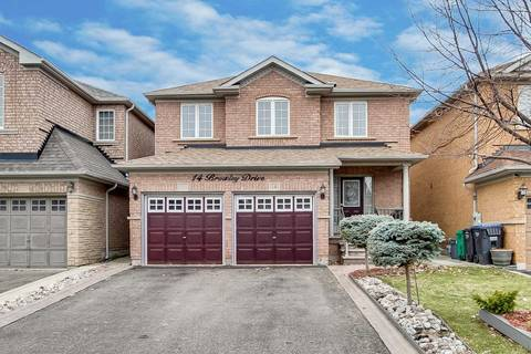 House for sale at 14 Browley Dr Brampton Ontario - MLS: W4420822