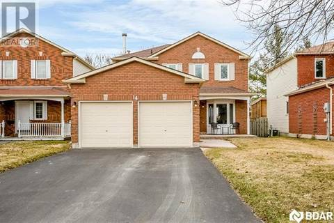 House for sale at 14 Burke Dr Barrie Ontario - MLS: 30726340