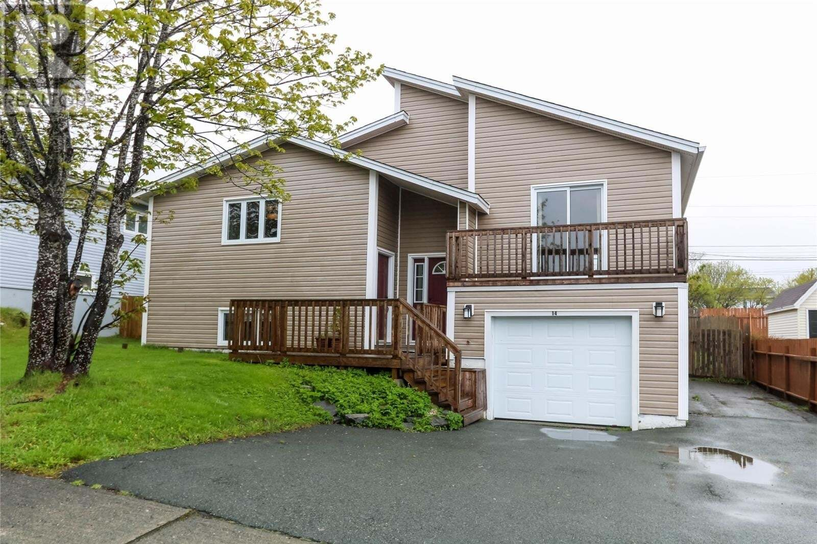 House for sale at 14 Cambridge Ave St. John's Newfoundland - MLS: 1214663