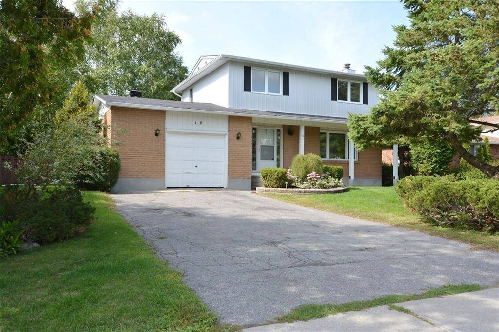 House for sale at 14 Chanonhouse Dr Ottawa Ontario - MLS: 1169445