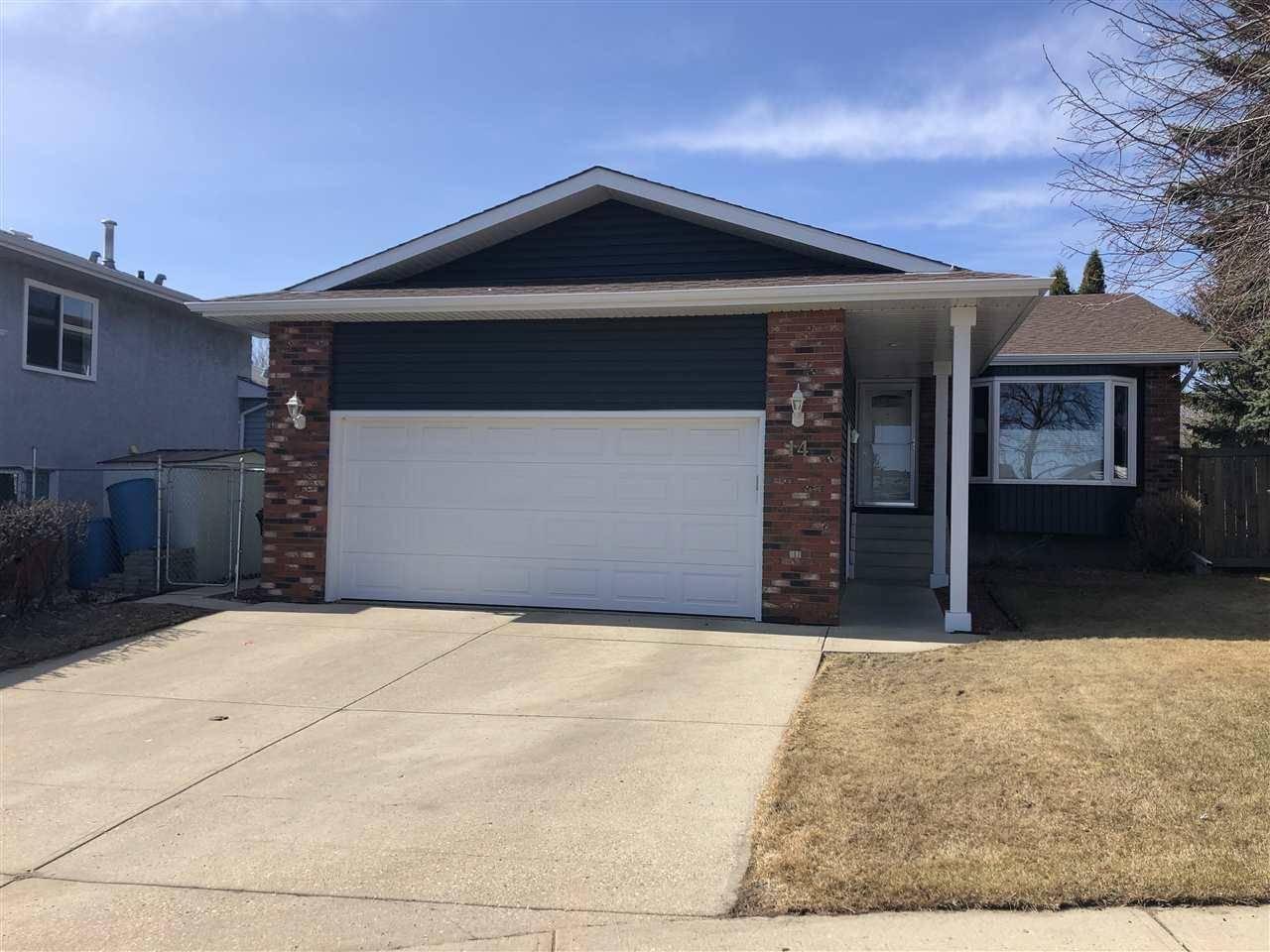 House for sale at 14 Chelsea Pl Sherwood Park Alberta - MLS: E4188111