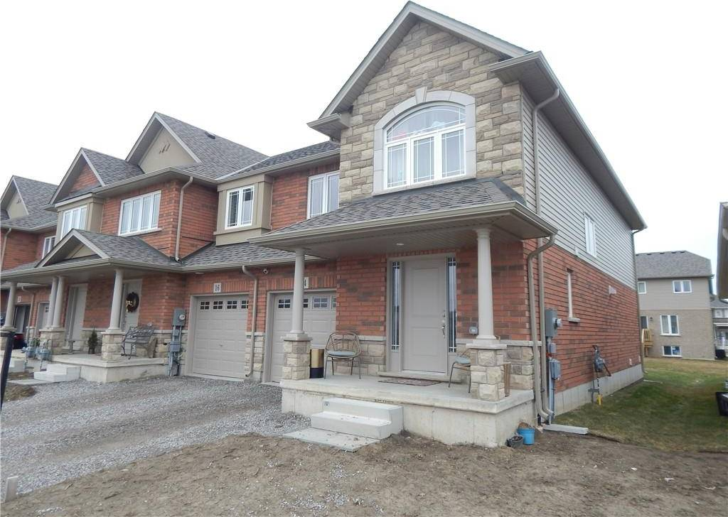 Townhouse for sale at 14 Cittadella Blvd Hannon Ontario - MLS: H4074539